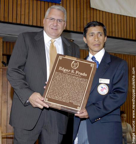 Edgar Prado inducted into Racing Hall of Fame August 4, 2008
